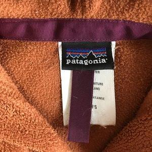 PATAGONIA FLUFFY FLEECE ZIP-UP HOODIE/JACKET